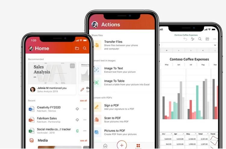 Приложение Microsoft Office для Android и iOS: краткое руководство