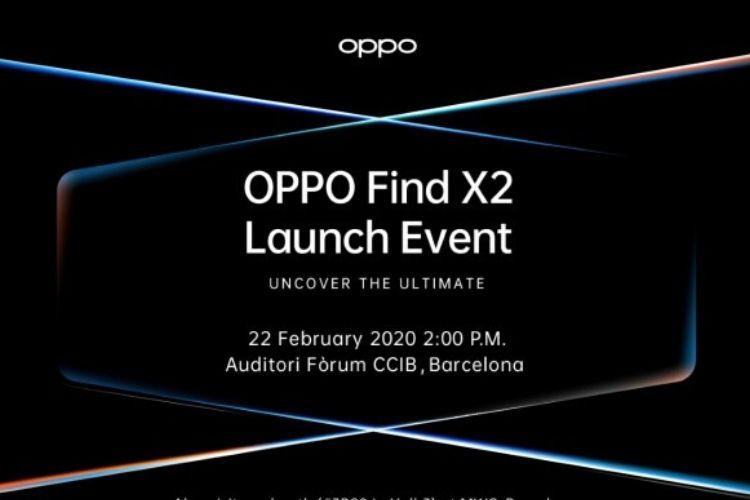 MWC 2020: запуск Oppo Find X2 состоится 22 февраля