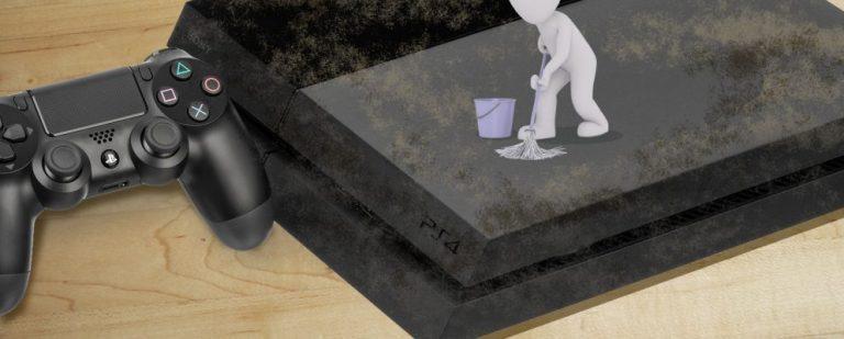 Как очистить пыль от вашего шумного PS4