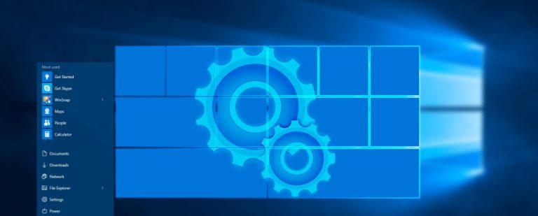 Как создать пользовательские плитки меню «Пуск» в Windows 10