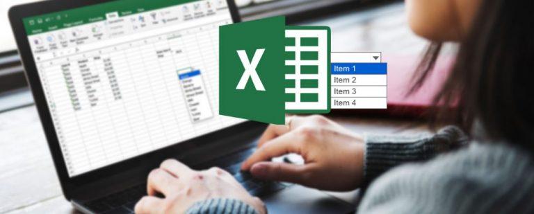 Как создать выпадающий список в Microsoft Excel