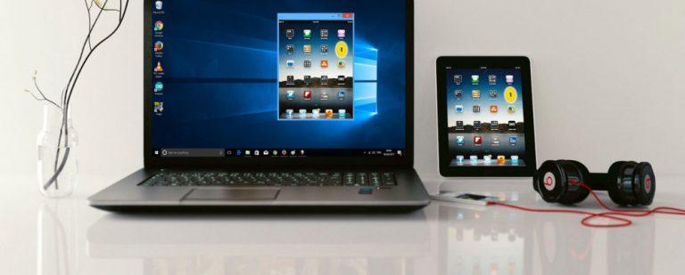 Отображение экрана iPhone или iPad на ПК с Windows