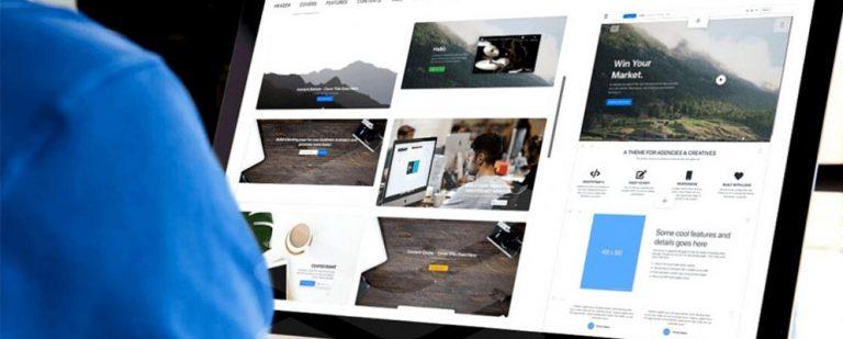 Blueprints помогает быстрее создавать сайты с помощью более 500 готовых блоков