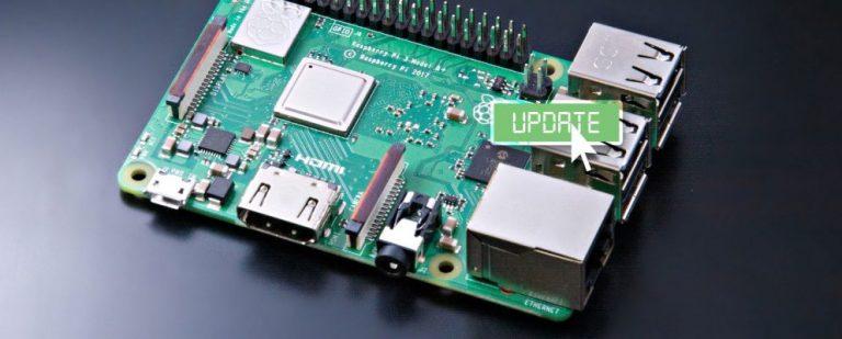 Как обновить Raspberry Pi до последней версии Raspbian OS