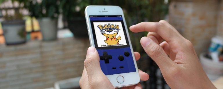 Как играть в игры про покемонов на iPhone или iPad