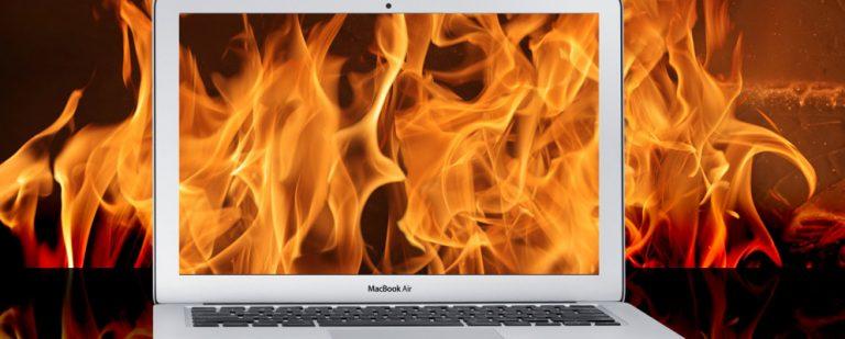 MacBook Air перегревается? 6 советов и хитростей, чтобы охладить