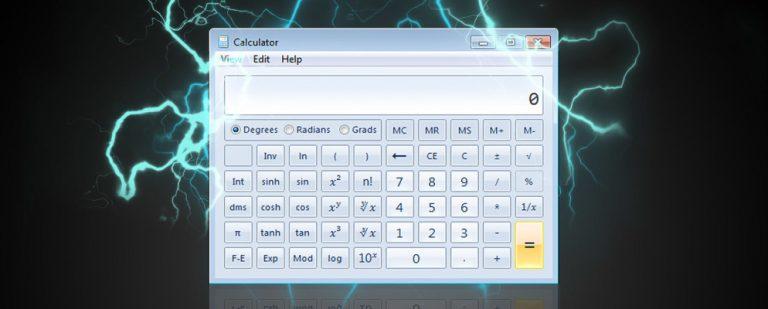 10 забытых функций калькулятора Windows, которые очень полезны