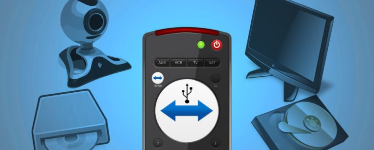 Как получить удаленный доступ к USB-накопителю с TeamViewer