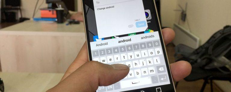 Как сменить клавиатуру Android