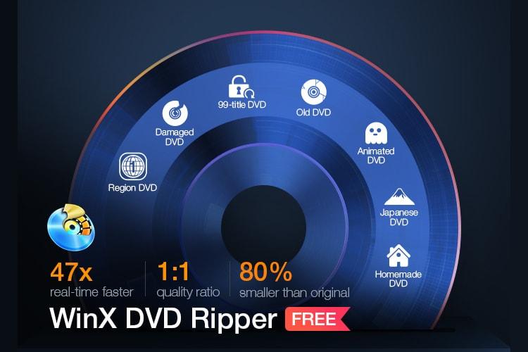 WinX DVD Ripper Platinum: копируйте и оцифровывайте DVD бесплатно