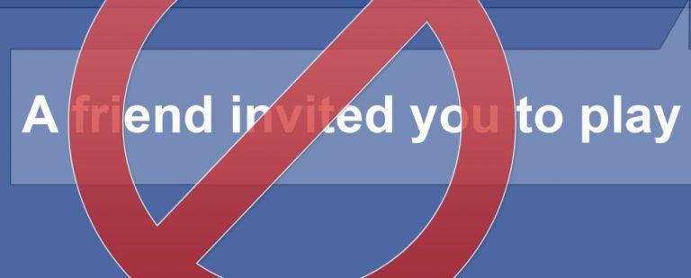 Как заблокировать приглашения на страницу Facebook и игровые запросы