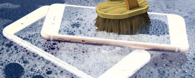 Как почистить грязный iPhone: пошаговое руководство
