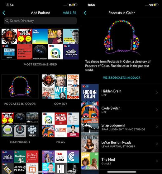10 лучших альтернатив для карманных кастов для Android и iOS (2020)