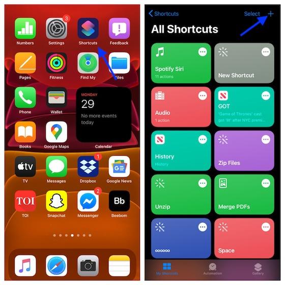 Как использовать Back Tap для запуска любого приложения в iOS 14