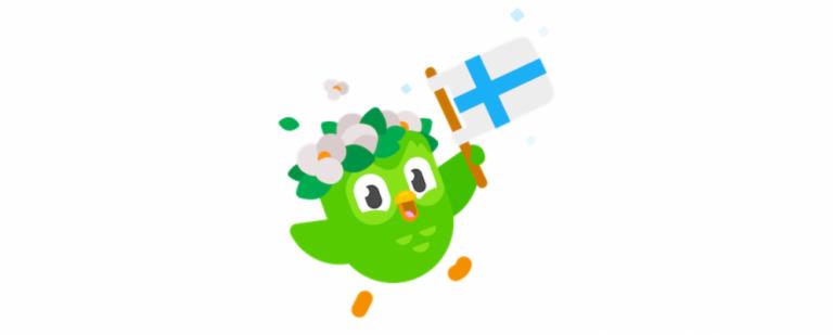 Теперь вы можете научиться говорить по-фински на Duolingo