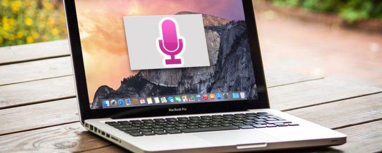Как использовать диктовку на Mac для голосового набора текста