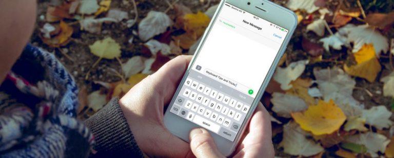 22 подсказки для клавиатуры iPhone
