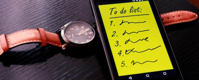 10 лучших приложений для Android для управления списками дел