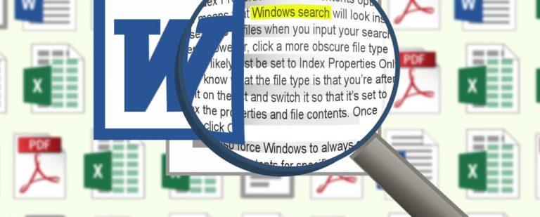 Как искать содержимое файла в Windows