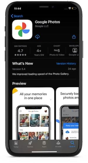 Как сделать резервную копию фотографий iPhone в Google Photos бесплатно