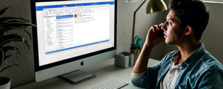 Как экспортировать электронные письма из Outlook