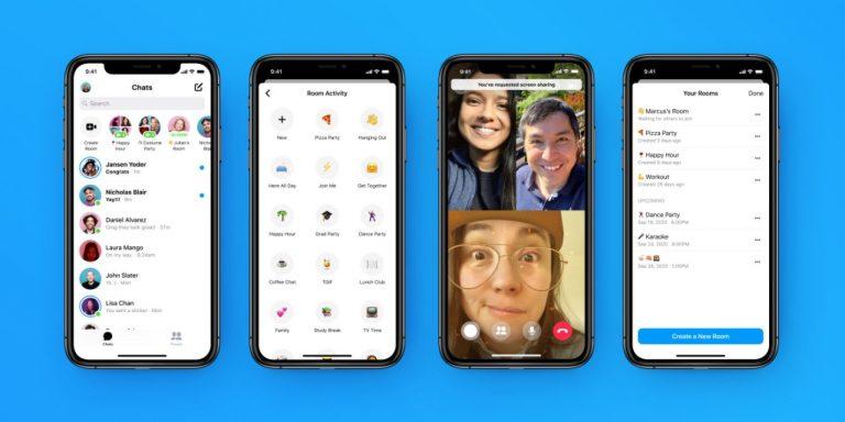 Facebook добавляет новые функции настройки в комнаты обмена сообщениями