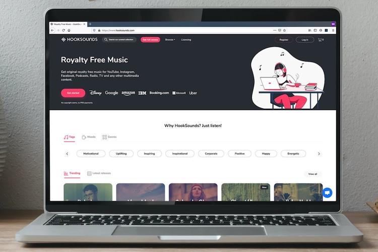 HookSounds: Музыка для масс без лицензионных отчислений