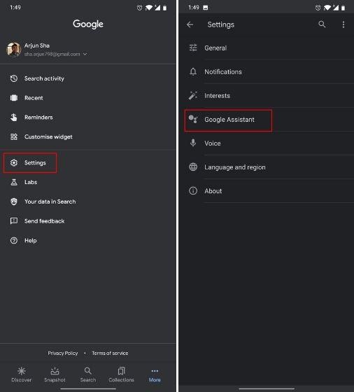 Как добавить сторонние ярлыки в Google Assistant