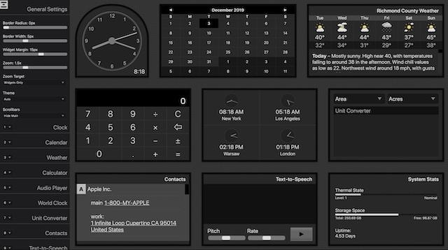 Как включить панель мониторинга в macOS Catalina в 2020 году