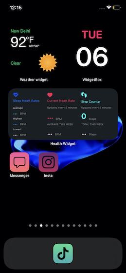 10 креативных идей дизайна домашнего экрана для iOS 14