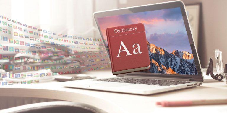 Как добавить дополнительные языки в приложение Mac Dictionary