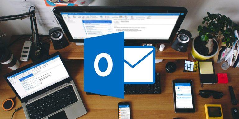 Как пересылать несколько писем в Outlook
