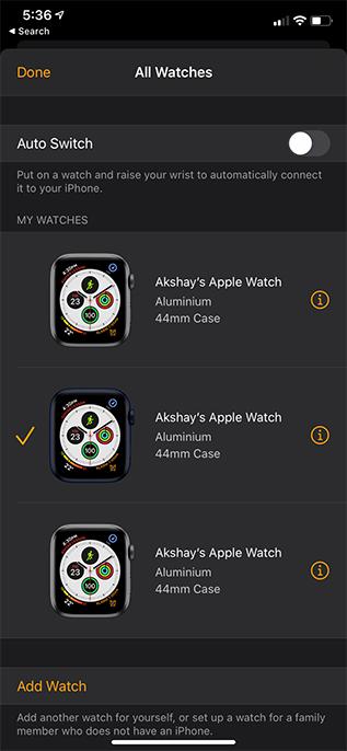 Как настроить тарифный план на Apple Watch