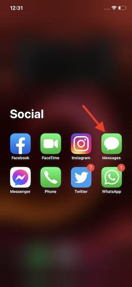 Как просматривать все фотографии в ветках сообщений на iPhone
