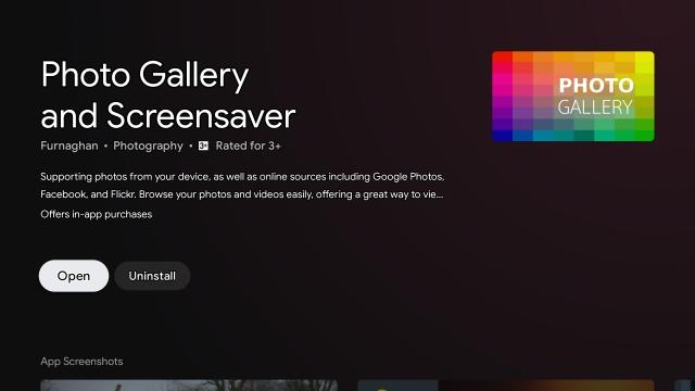 Как установить Google Фото в качестве заставки на Android TV