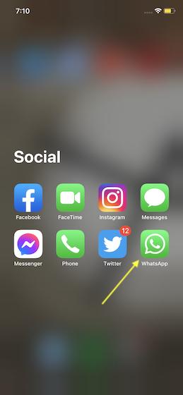 Как изменить фон WhatsApp для отдельных чатов