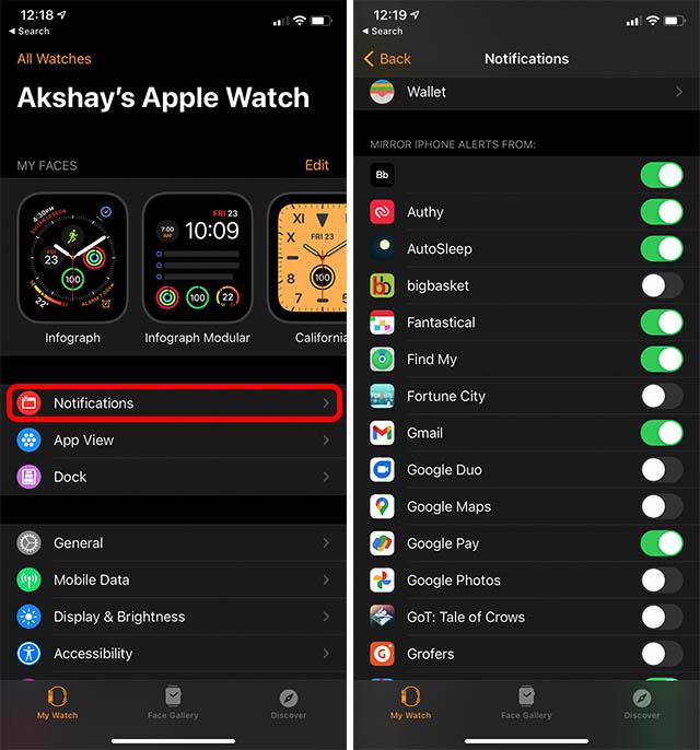 Как увеличить время автономной работы Apple Watch Series 6dd