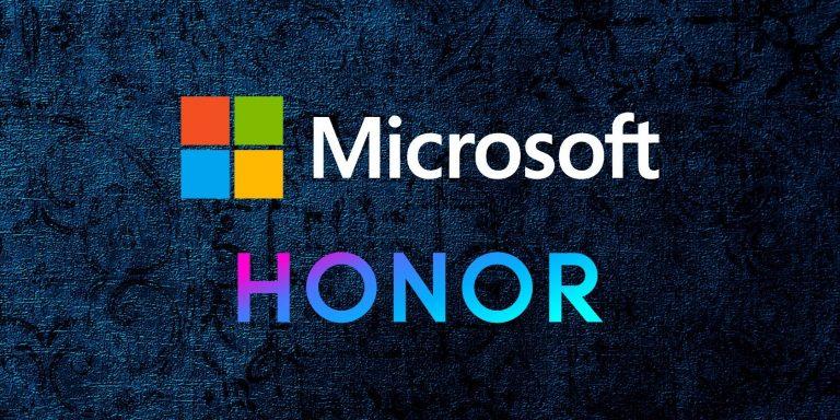 Microsoft лицензирует Windows 10 для новых ноутбуков Honor