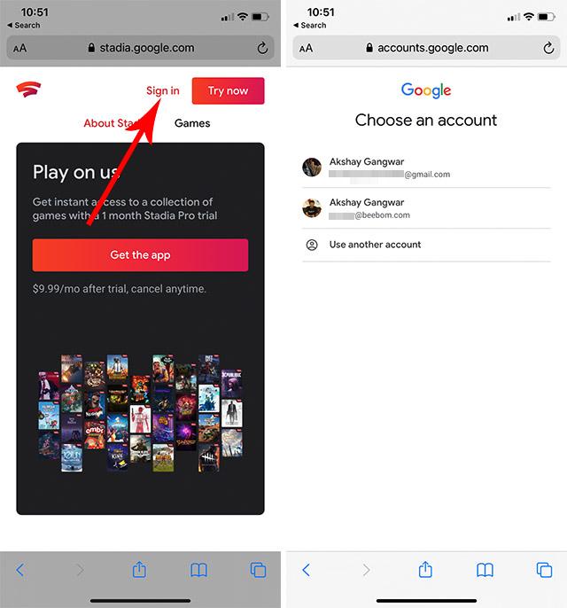 Как играть в Google Stadia на iPhone и iPad