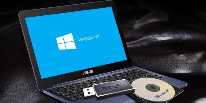 Как создать установочный носитель Windows 10: 3 метода