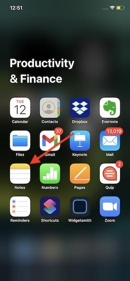 Как восстановить случайно удаленные заметки на iPhone и iPad