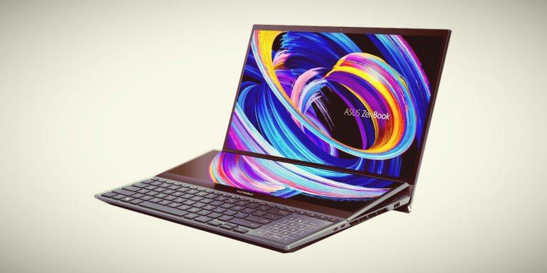 ASUS обновляет ZenBook Duos с двумя экранами новыми процессорами Intel