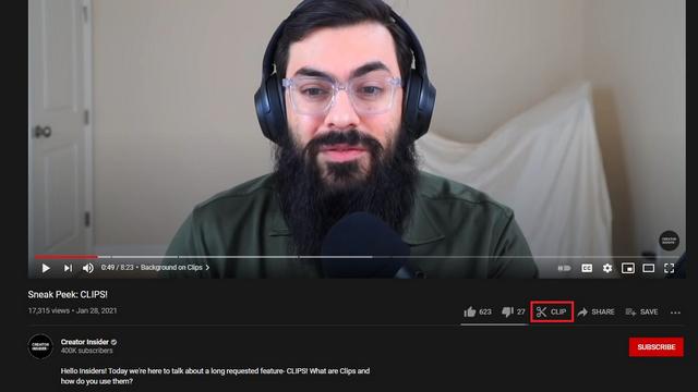 Как использовать клипы на YouTube для создания коротких видеоклипов
