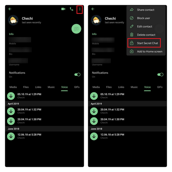 Как отправлять исчезающие сообщения в WhatsApp, Telegram, Signal