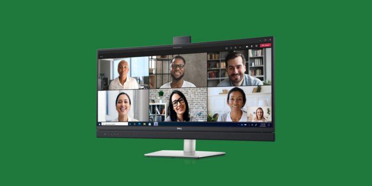 Dell запускает мониторы со встроенной кнопкой Microsoft Teams