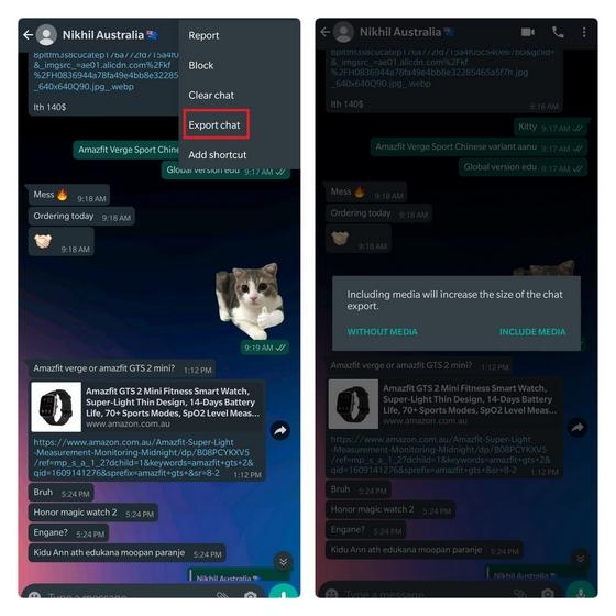 Как импортировать чаты из WhatsApp в Telegram