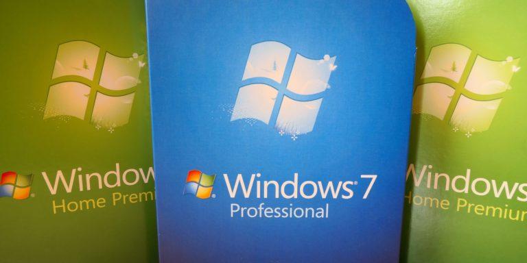 Windows 7 по-прежнему используется больше людей, чем вы думаете