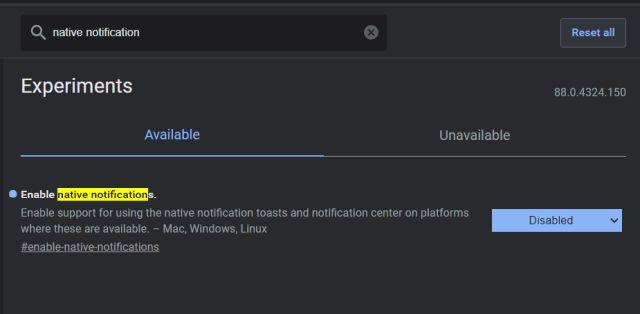Как восстановить встроенное уведомление Chrome в Windows 10 (2021 г.)