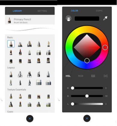 4 лучших приложений для рисования альтернативы Procreate для Android