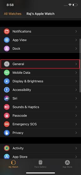 Контакты iPhone не синхронизируются с Apple Watch?  Вот исправление